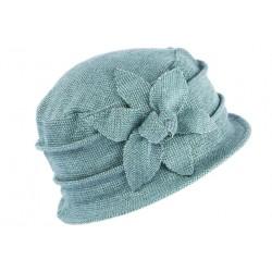 Chapeau Femme Hiver Bleu turquoise Beret Toque fashion Venya CHAPEAUX Léon montane