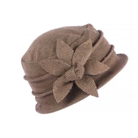 Chapeau Femme Hiver Marron Beret Toque fashion Venya CHAPEAUX Léon montane