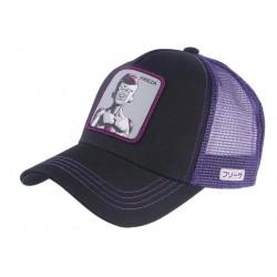 Casquette Frieza Dragon Ball Z noire violette Baseball Capslab CASQUETTES CAPSLAB