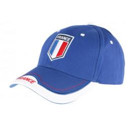 Casquette France Bleu Blanc Rouge Baseball Foot tricolore Tendance CASQUETTES PAYS