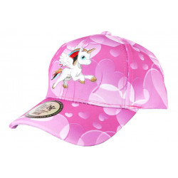 Casquette Enfant Licorne Rose Blanche Tendance Baseball Kids Cetya 6 a 12 ans ANCIENNES COLLECTIONS divers