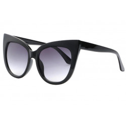 Grandes Lunettes de Soleil Papillon Noires Chics et Design Soty LUNETTES SOLEIL Eye Wear