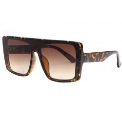 Grosses lunettes de soleil Tendance et Design Marron Kraw LUNETTES SOLEIL Eye Wear