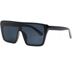 Grosses lunettes de soleil Noires Classe et Design Kyva LUNETTES SOLEIL Eye Wear