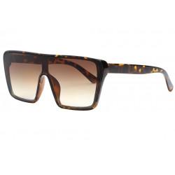 Grosses lunettes de soleil Ecailles Marron Classe et Design Kyva LUNETTES SOLEIL Eye Wear