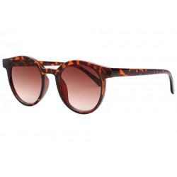 Lunettes de soleil Rondes Ecailles Marron Vintage Fegy LUNETTES SOLEIL Eye Wear