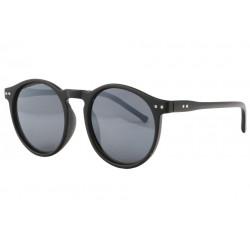 Lunettes de soleil Rondes Noir Mat Retro Classe Fegy LUNETTES SOLEIL Eye Wear