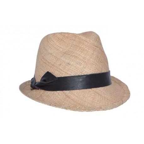 Nyls création chapeau de paille Crystal naturel
