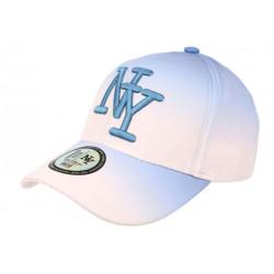 Casquette Enfant Bleue et Orange Classe Baseball Fashion Renbo de 7 à 11 ans Casquette Enfant Hip Hop Honour