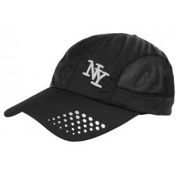 Casquette NY Sportswear Noire Toile et Filet Fashion Baseball Zatyl CASQUETTES Hip Hop Honour