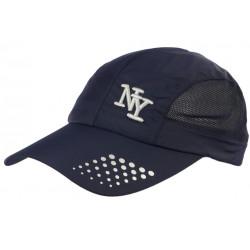 Casquette NY Sportswear Bleu Marine Filet Fashion Baseball Zatyl CASQUETTES Hip Hop Honour