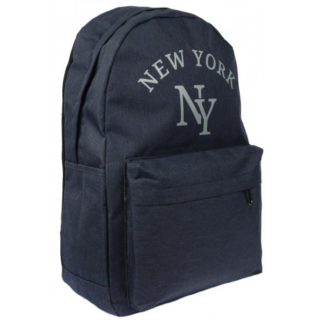 Sac a Dos NY Bleu Marine Streetwear Confort et Leger Studer Sac à Dos Hip Hop Honour