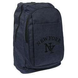 Sac a Dos NY Bleu Marine Streetwear Confort et Leger New York Colbya Sac à Dos Hip Hop Honour