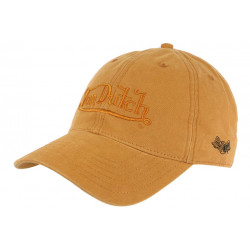 Casquette Von Dutch Orange Tendance Coton Retro Baseball Wheat CASQUETTES VON DUTCH