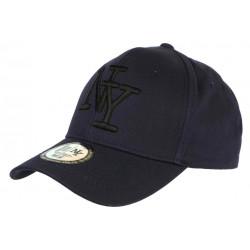 Casquette NY Bleue Marine Tendance Visiere Baseball Sticker Original Stazky CASQUETTES Hip Hop Honour