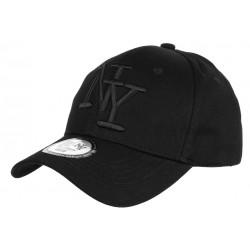 Casquette NY Noire Tendance Visiere Baseball Sticker Original Stazky CASQUETTES Hip Hop Honour