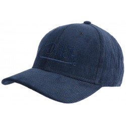 Casquette Von Dutch Bleue en Velours Marine Baseball Peter CASQUETTES VON DUTCH