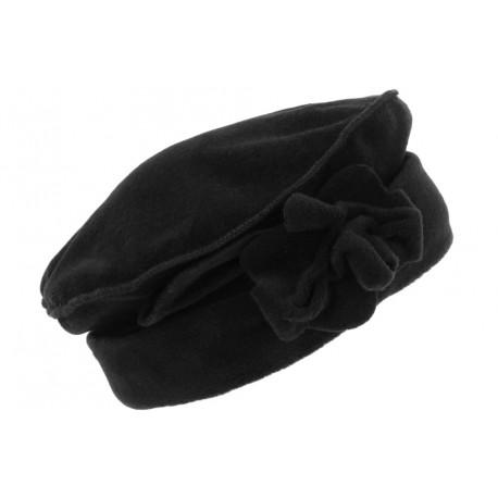 Bonnet Beret Femme Noir Toque en Polaire Deperlante Qualite Chapeliere Nylia CHAPEAUX Léon montane