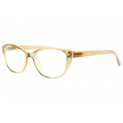 Lunettes Loupe Marrons Transparentes Femme Fashion Valy Lunettes Loupes New Time
