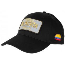 Casquette El Patron Noir Ecusson Reflechissant Medellin Colombia Baseball CASQUETTES SKR