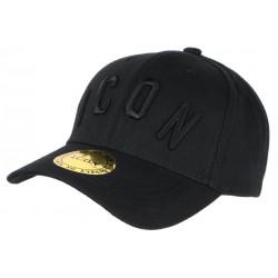 Casquette ICON Noire Streetwear Design Baseball Fyck CASQUETTES Hip Hop Honour
