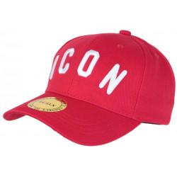 Casquette ICON Rouge et Blanche Streetwear Design Baseball Fyck CASQUETTES Hip Hop Honour
