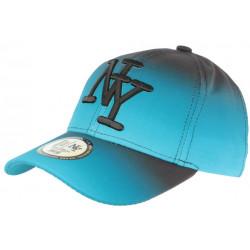 Casquette NY Bleue et Noire Originale Fashion Baseball Renbo CASQUETTES Hip Hop Honour
