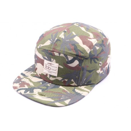 Casquette 5 panel JBB Couture Camouflage