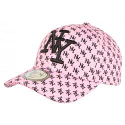 Casquette NY Rose et Noire Print New York Fashion Baseball Avenue CASQUETTES Hip Hop Honour