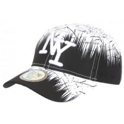 Casquette NY Blanche et Noire Bad Jungle Graphisme Streetwear Fashion Baseball CASQUETTES Hip Hop Honour