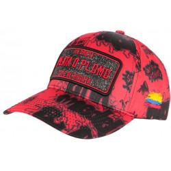 Casquette Plata o Plomo Rouge et Noire Strass Streetwear Colombia Baseball CASQUETTES SKR