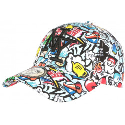 Casquette NY Originale Blanche Print Rouge Bleu Fashion Baseball Big City CASQUETTES Hip Hop Honour
