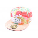 Casquette Snapback JBB Couture Sorry I'm Fresh Rose