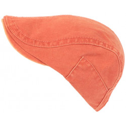 Casquette Plate Orange en Coton Confort Homme et Femme Tendance Evyk CASQUETTES Léon montane