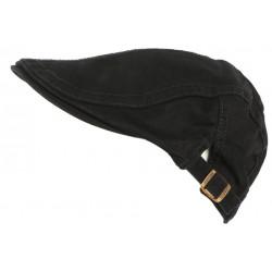 Casquette Plate Noire en Coton Sportswear Eté Homme et Femme Menyk CASQUETTES Léon montane
