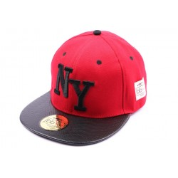 Snapback NYJBB Couture Rouge CASQUETTES JBB COUTURE