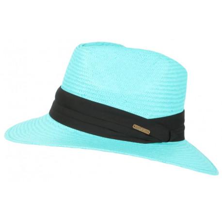 Chapeau de Paille Bleu Azur Tendance Théo CHAPEAUX Léon montane