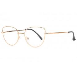 Fines lunettes de Lecture Oeil de Chat Dorees Slim Femme Solla Lunettes Loupes Proloupe
