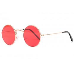 Petites Lunettes Soleil Rouges Rondes Mode Beatly LUNETTES SOLEIL Eye Wear