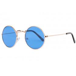 Petites Lunettes Soleil Bleues Rondes Tendance Beatly LUNETTES SOLEIL Eye Wear
