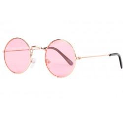 Petites Lunettes Soleil Roses Rondes Fashion Beatly LUNETTES SOLEIL Eye Wear