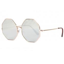 Lunettes Soleil Octogonales Miroir Gris Tendances Octy LUNETTES SOLEIL Eye Wear