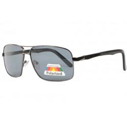 Lunettes Polarisees Noires Sportswear en Metal Nury LUNETTES SOLEIL Eye Wear