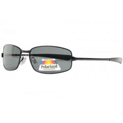 Lunettes Polarisantes Noires Sportswear en Metal Keck LUNETTES SOLEIL Eye Wear