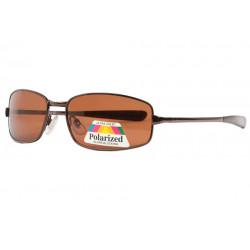 Lunettes Polarisantes Marrons Sportswear en Metal Keck LUNETTES SOLEIL Eye Wear