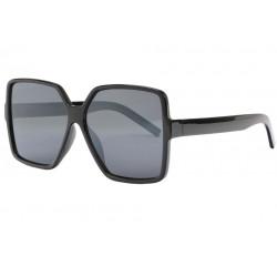 Grandes Lunettes de Soleil Noires Femme Classe Design Lyva LUNETTES SOLEIL Eye Wear