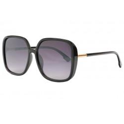 Grosses Lunettes de Soleil Noires Femme Style Classe Neva LUNETTES SOLEIL Eye Wear