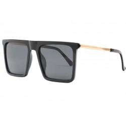 Grandes Lunettes Soleil Noires Design Fashion Zam LUNETTES SOLEIL Eye Wear