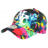 Casquette NY Rouge et Noire Design Tags Streetwear Baseball Grafty