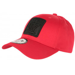 Casquette NY Rouge Patch NY Strass Noir Fashion Baseball Fashly CASQUETTES Hip Hop Honour